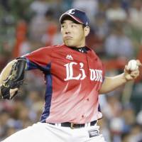 Lions ace Yusei Kikuchi has been one of the best pitchers in Japan this season. | KYODO
