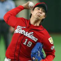 Carp stay perfect against Giants at Tokyo Dome this season