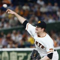 Mikolas notches 10th win as Giants defeat Tigers