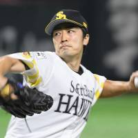 Hawks' Wada shines in first start since April, records 1,500th career strikeout