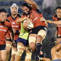 Toshiba storms past NEC in weather-delayed match