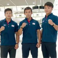 Abe aims high at world championships