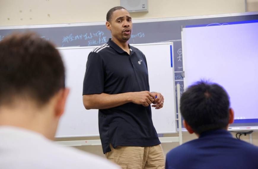 Jazz assistant coach Lang values Japan experience