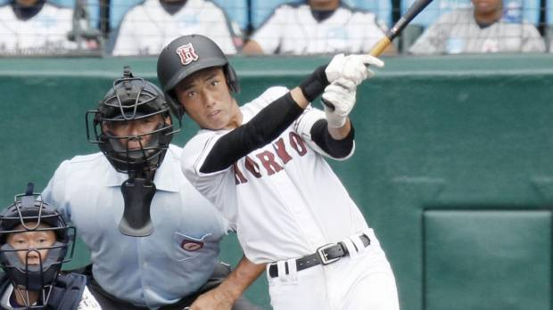 Koryo slugger Nakamura breaks single-tournament homer mark