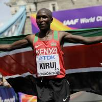 Kenya's Kirui claims gold in men's marathon