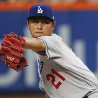 Darvish Ks 10 in Dodgers debut