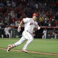 Trout gets 1,000th career hit for Angels in loss