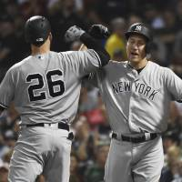 Yanks pull closer to AL East-leading Red Sox