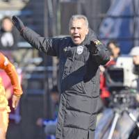 Nelsinho was fired as manager of Vissel Kobe on Wednesday with the team 11th in the 18-team J. League table. | KYODO