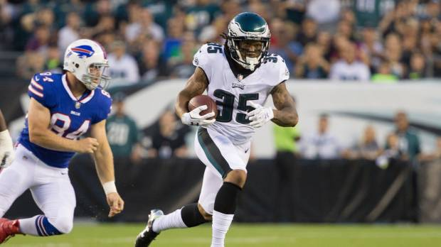 New acquisition Darby impressive in debut as Eagles top Bills