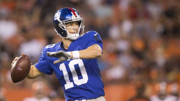 Beckham injured as Giants fall to Browns