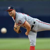 Grace solid for Nats in rare start