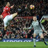 Ibrahimovic back with Manchester United