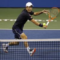 Nishikori beats del Potro to reach Citi Open quarterfinals