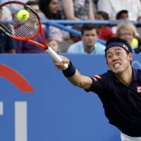 Tired Nishikori falls in Citi Open semifinals