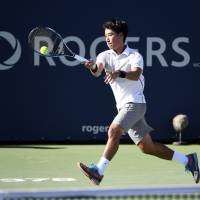 Sugita falls to Goffin in Rogers Cup first round