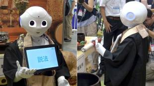 [VIDEO] Pepper the robot performs Buddhist funeral rites