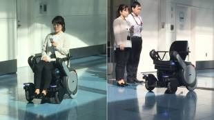 [VIDEO] Autonomous wheelchair Whill Next demonstration at Tokyo's Haneda airport