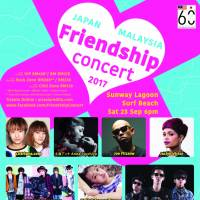 Japan x Malaysia Friendship Concert 2017 will be the biggest-ever concert involving major Japanese artists in Malaysia.