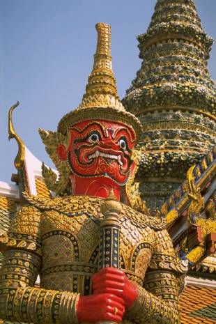 Wat Phra Kaew is one of the most visited temples n Thailand.