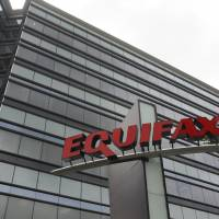 Equifax Inc. offices in Atlanta are seen in 2012. | AP