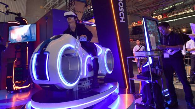 VR attractions to take center stage at Tokyo Game Show