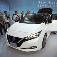 Nissan's Leaf boasts more range, but charging still an obstacle for electric cars