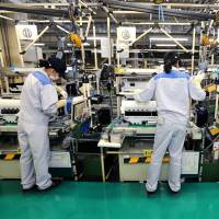 Japan's machinery orders posted an 8 percent month-on-month increase in July. | BLOOMBERG