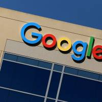 The Google logo is pictured atop an office building in Irvine, California, Aug. 7. | REUTERS