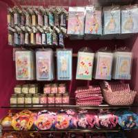 One of two areas selling goods based on the popular anime 'Sailor Moon' is shown in Japan's first permanent Sailor Moon store after its opening Saturday in Tokyo's Harajuku district. | KAZUAKI NAGATA
