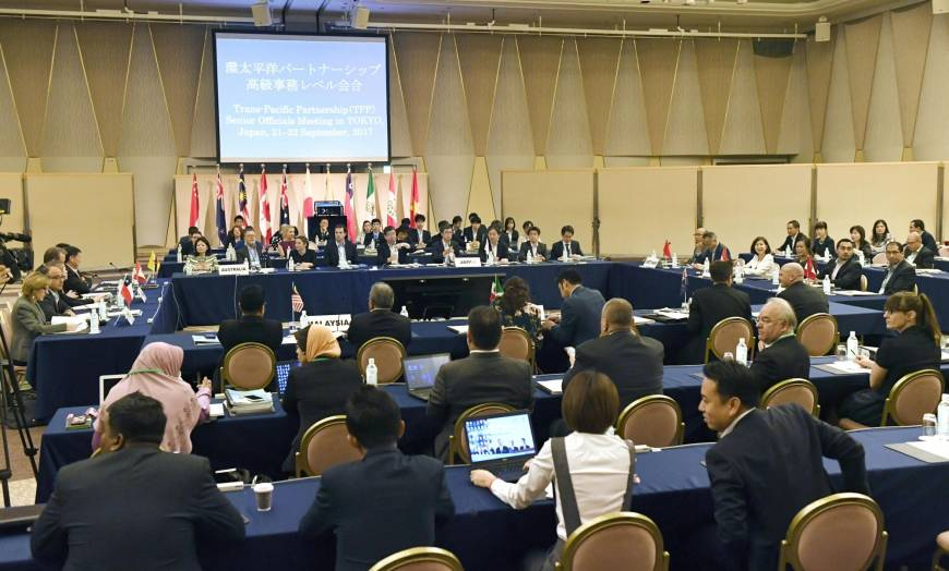 TPP negotiators work to revise trade deal after U.S. withdrawal