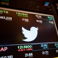 Twitter will double its 140-character limit in an experiment aimed at drawing in more users. | BLOOMBERG