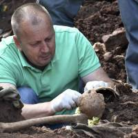 Bosnia mass grave so far yields at least 65 skulls of alleged executed non-Serb civilians