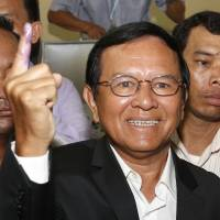 Cambodian opposition leader Kem Sokha arrested for treason