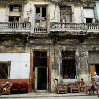 Cuba's historic, but decrepit buildings said one hurricane away from collapsing, then came Irma