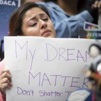 Trump, once vowing to 'immediately terminate' program for 'dreamer' immigrant children, now hands problem to Congress