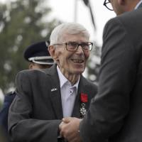 France bestows highest honor on 10 California vets for WWII service