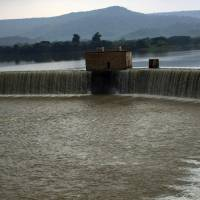 A view of Gangau dam in the village of Daudhan in the central Indian state of Madhya Pradesh on Aug. 18. | REUTERS