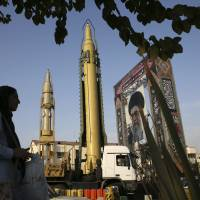Iran displays Russian-made S-300 air defense missile system for first time in public