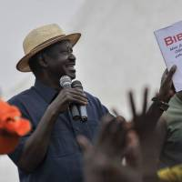 Kenya opposition leader Odinga sets terms to take part in presidential poll re-run