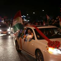 Iraqi Kurds cast independence vote in defiance of threats and opposition from Ankara, Baghdad, Tehran