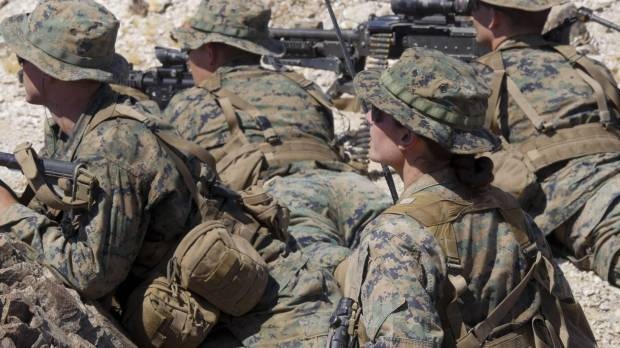 In a U.S. Marine Corps first, woman completes rigorous course to become infantry officer