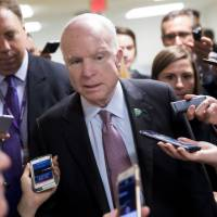 McCain declares opposition to Republican Party's last-ditch efforts to kill 'Obamacare'