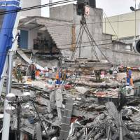 New earthquake, magnitude 6.1, shakes jittery Mexico, killing at least two
