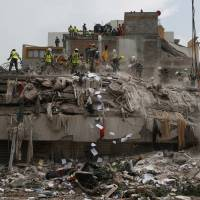 Hundreds of damaged structures seen poised to collapse in wake of Mexico quake