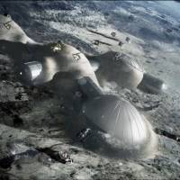 The 'Moon Village' would represent a giant leap in space exploration, says European Space Agency head Jan Woerner. | ESA