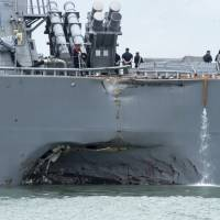 Japan-based U.S. Navy ships face readiness, training issues, government report says