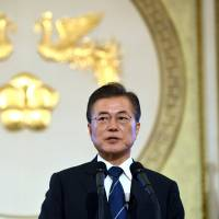 South Korea's Moon faces calls to alter policy on North after nuclear test