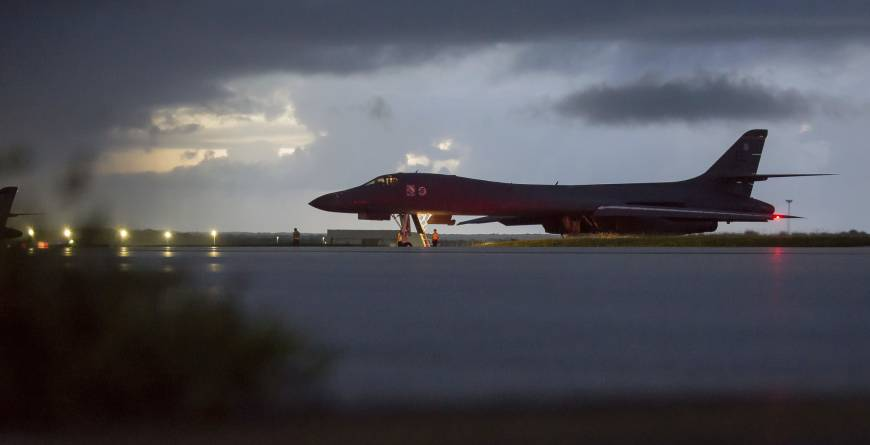 North Korea foreign minister warns of 'pre-emptive action' as U.S. bombers fly off Korean Peninsula