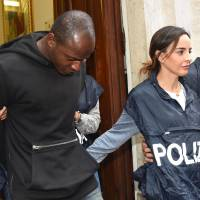 Italy police nab asylum-hopeful, 20, as last, and only adult, suspect in beach gang rapes